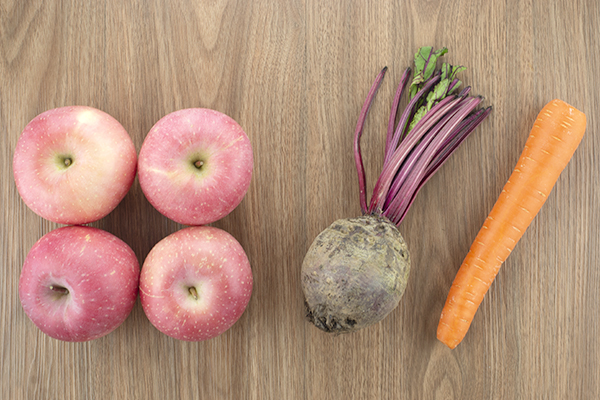 Apple Beetroot Carrot Juice Ingredients