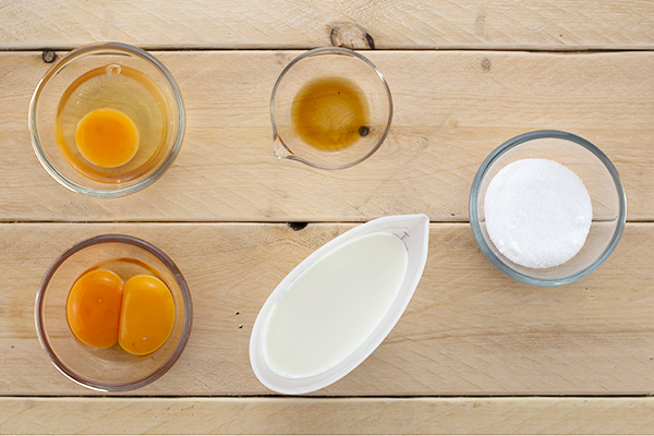 Creme Caramel Ingredients B